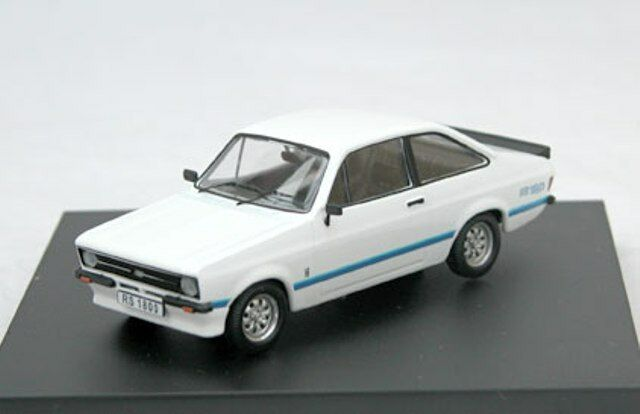 Trofeu 1006 1803R 1801R ford escort Mk.2 modèle route voiture voiture route diamant blanc & rouge 1:43 5457be