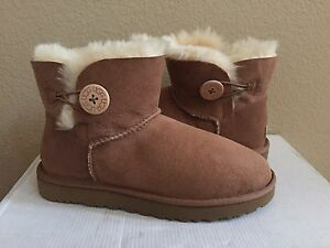 Uk Bailey Details Us 5 Ugg Classic Eu Button 5 Nib 7 Mini Boot About Chestnut Ii 38 PkuXiZOT