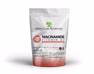 Niacinamide-Vitamina-B3-Nicotinamide-Polvere-GRADO-FARMACEUTICO