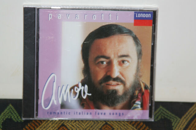 Pavarotti: Amore: Romantic Italian Love Songs 1992 Opera CD MINT