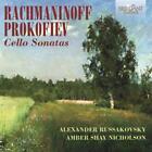 Cello Sonatas von Alexander Russakovsky,Amber Shay Nicholson (2014)