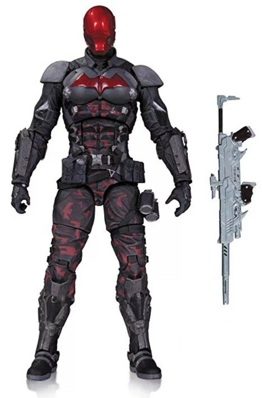 DC COLLECTIBLES BATMAN ARKHAM KNIGHT rosso HOOD SERIES 12