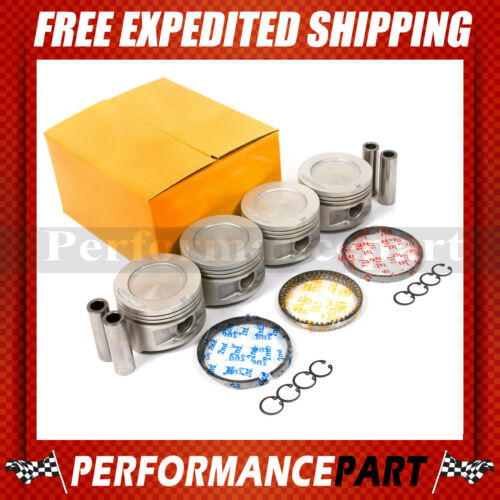 8595 Toyota 4Runner Celica 2.4L SOHC 8V 22R 22RE 22REC Pistons with Rings