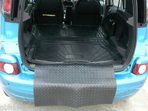 3pc boot liner load mat bumper protector citroen c3 picasso heavy duty rubber ebay. Black Bedroom Furniture Sets. Home Design Ideas