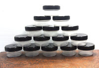 12 Jars Low Profile Containers Hobby Rc Train Parts Backpacking 4302 1tbl Usa