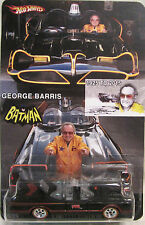 Hot Wheels CUSTOM '66 TV SERIES BATMOBILE George Barris Tribute RR LTD #20/25!