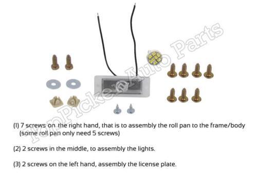 For 2007-2013 SILVERADO FLEETSIDE REAR ROLL PAN LIGHT TAILGATE HANDLE RELOCATOR