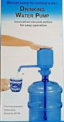 1 8 Ounces of Water in Seconds Drinking Water HAND PUMP for 5 GALLON JUG