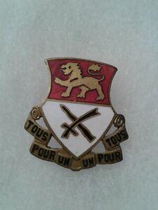 Authentic-US-Army-15th-Cavalry-Regiment-DI-DUI-Unit-Crest-Insignia-NH