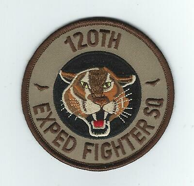 120th EXPEDITIONARY FIGHTER SQUADRON desert patch