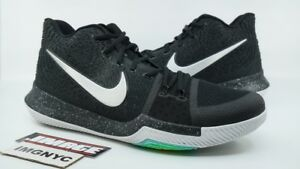 reputable site e1386 2f134 Details about NIKE KYRIE 3 USED SIZE 14 BLACK ICE BLACK METALLIC SILVER  WHITE 852395-018