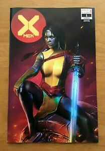 X-Men-1-2019-Shannon-Maer-Trade-Dress-Variant-Cover-1st-Print-Marvel-Comics-NM