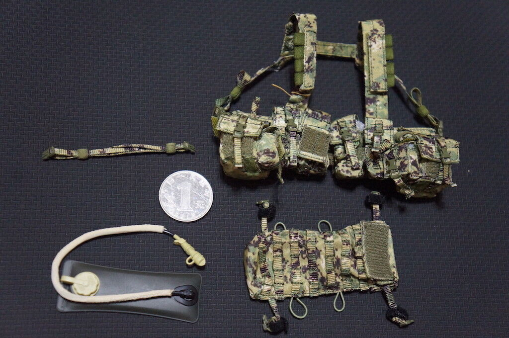 Chest Rig Set for Dam 78049 NSWDG in Afghanistan 1/6 Scale Action Figure