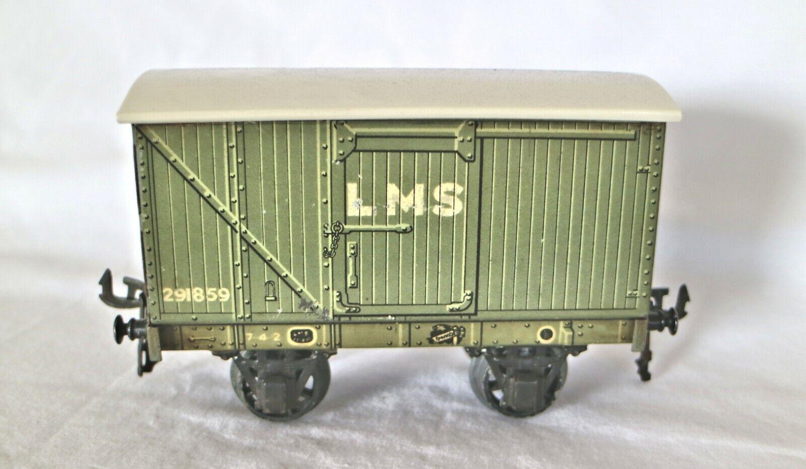 920K  Vintage Bassett Lowke 0 Gauge LMS Goods Van 291859