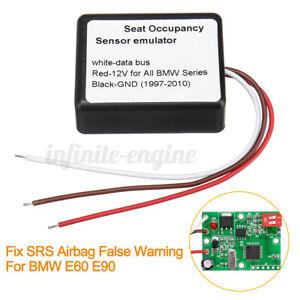 Passenger Seat Occupancy Mat Bypass For BMW E90 E60 Sensor Emulator US ! f p