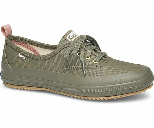 Keds Womens Scout Trek Splash Canvas Sneakers Olive