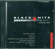 Black Hits Volume One - Down Low/Nana/Ll Cool J/Jay Z/Bone Thugs N Harmony 2X Cd