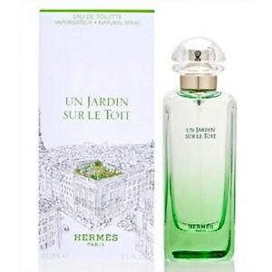 Un Jardin Sur Le Toit Hermes Perfume Women 33 Oz Eau De Toilette