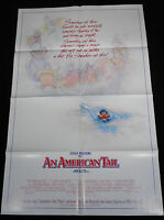 An American Tail 1986 Don Bluth Animated Classic 27 X 41 One Sheet Mint