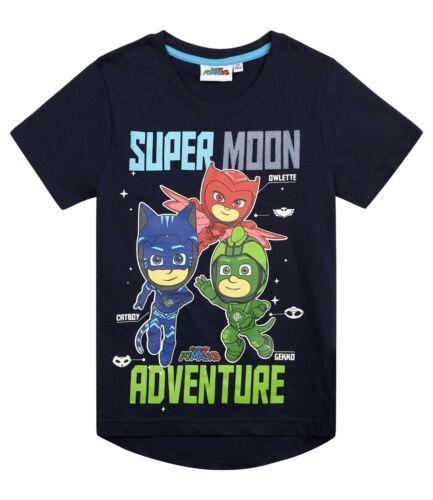 Boys Pj Masks Short Sleeve T Shirt TeeGekko Catboy Owlette T Shirts