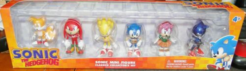 Sonic the Hedgehog Mini Figure Classics Collector/'s Set Brand New
