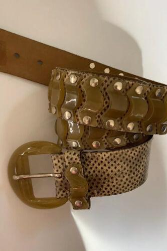 Nanni Belt Leather & Resin 30