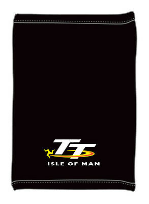 Official Isle of Man Flags 2019 Black TT T-Shirt 19ATS1