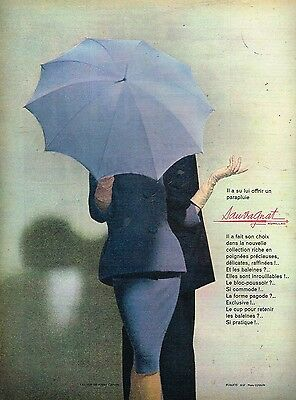 Collectibles Other Breweriana Humor A Publicité Advertising 1960 Les Parapluies Sauvagnat Par Coquin Refreshment