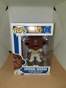 Funko-Pop-Star-Wars-Admiral-Ackbar-Blue-Box-Vaulted-w-Pop-Protector