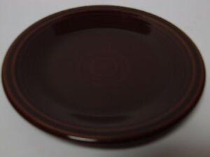 RETIRED-2008-Chocolate-Brown-FIESTA-7-034-SALAD-PLATE-HLC-HOMER-LAUGHLIN-FIESTAWARE