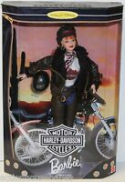 Harley-davidson Motorcycles 2sd Series Collector Edition Barbie Doll 20441