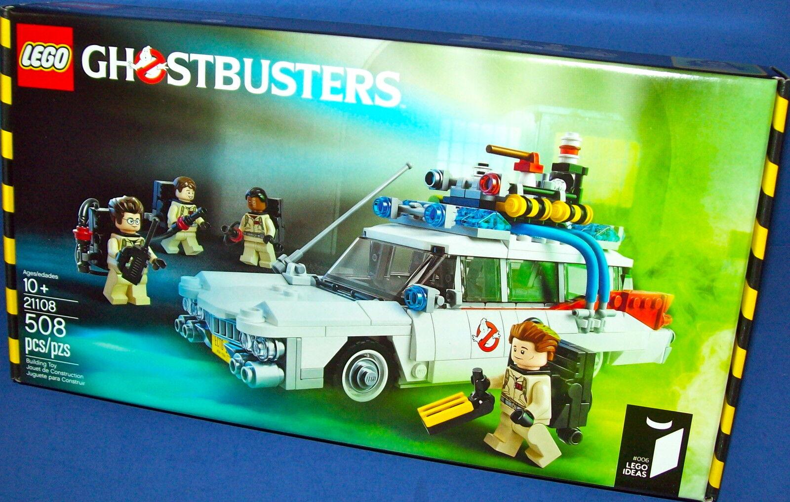 Lego 21108 Ghostbusters ECTO-1 Ideen B Nisb Limitiert Neu Htf Limitiert Nisb 30-anniversary 330729