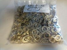 """FASNAP BRASS 1/2 """" GROMMET / SPUR WASHER (1000) GRM 1WS-BBR MARINE BOAT"""