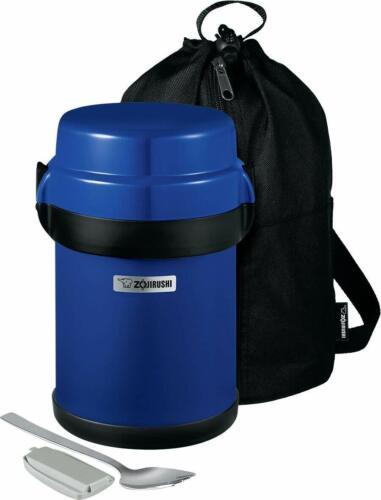 Zojirushi SL-JBE14AZ Mr. Bento Stainless Lunch Jar, 41 Oz, Blueberry