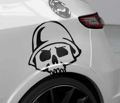Auto Aufkleber Skull Totenkopf Sticker 60cm JDM Decals OEM Autotatoo
