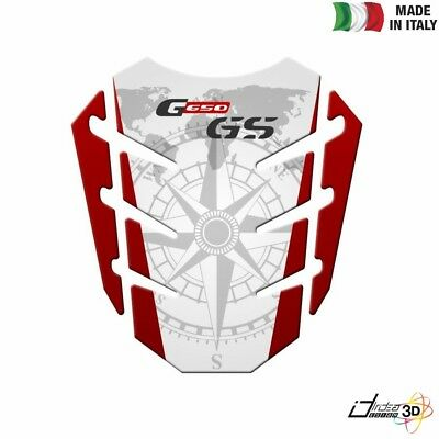 Red PARASERBATOIO ADESIVO RESINATO EFFETTO 3D compatibile con BMW F 700 GS dal 2015 in poi