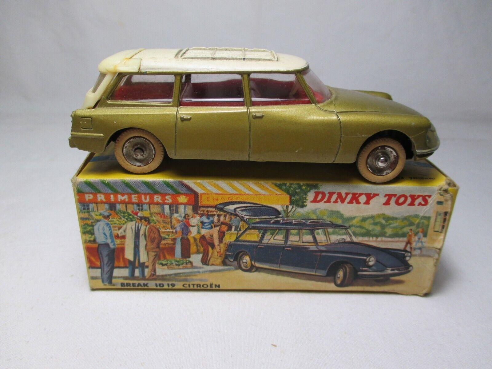 Dinky Spielzeugs 539 CITROEN ID 19 BREAK 1 43 France Francia + boite scatola ORIGINALE
