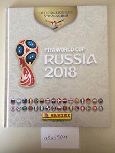Panini-FIFA-World-Cup-Russia-2018-Hardcover-Album-Blanc-White-France