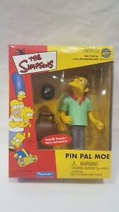 THE-SIMPSONS-WORLD-OF-SPRINGFIELD-TOYFARE-PIN-PAL-MOE-INTERACTIVE-FIGURE