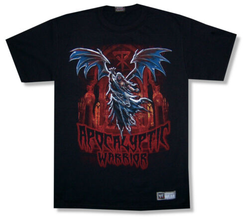 WWE Wrestling The Undertaker Apocalyptic Warrior Black T Shirt New Official