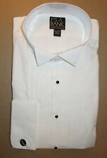 Jos A Bank Classic collection formal tuxedo dress shirt wing collar 16.5  - 32