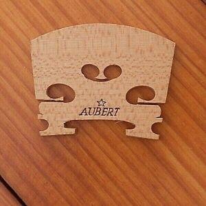 Vintage 1/2  Size Aubert Violin Bridge Unused Condition