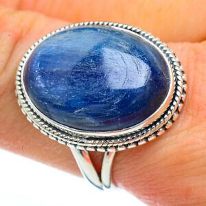 Kyanite-925-Sterling-Silver-Ring-Size-9-Ana-Co-Jewelry-R44827F