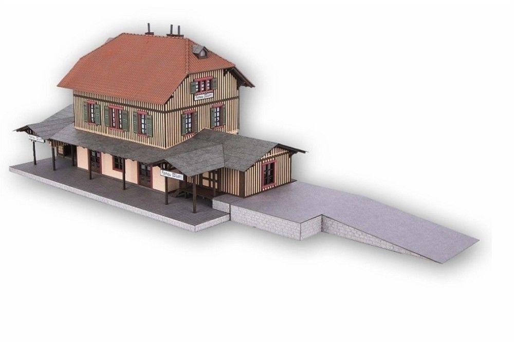Noch 66007 Railway Station Honau 11 1 32x6 5 16x5 29 32in + 6 7 8x3