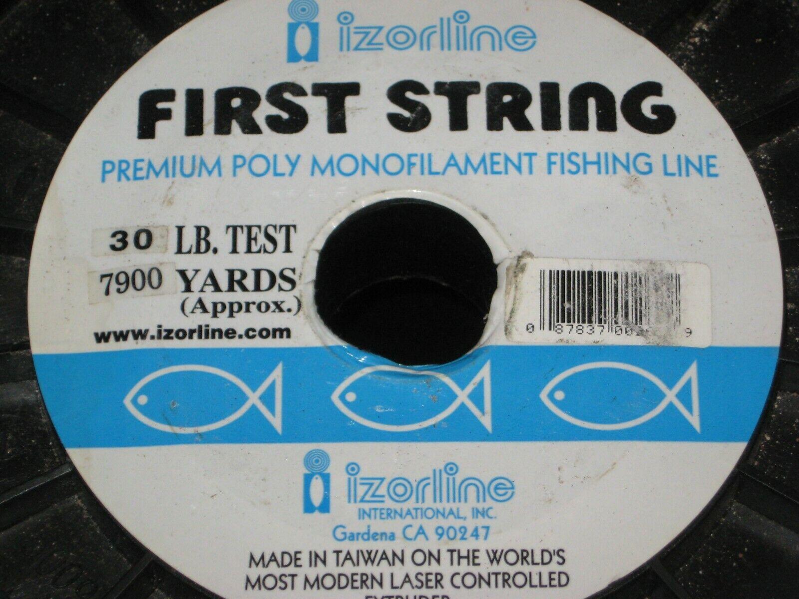 Izorline primero String Monofilauominit pesca Line 30 lb Test 7900 yds blu 2kg