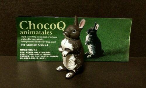 Kaiyodo Furuta Choco Q Pet Animal Series 4 Dwarf Rabbit Figure B
