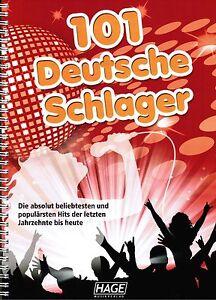 Keyboard-Noten-101-Deutsche-Schlager-Hage-3645-leichte-Mittelstufe