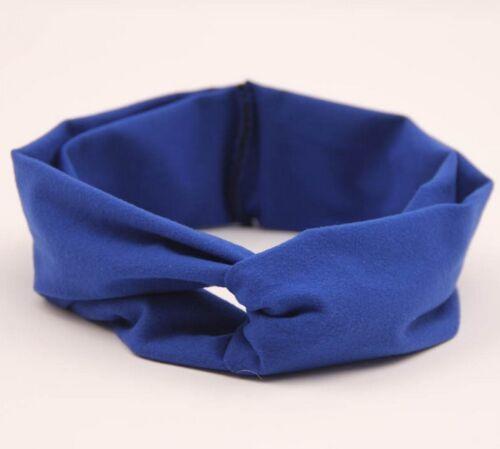 Baby Cotton Twisted Turban Knot Headband Newborn Girl Toddler Hair Accessory