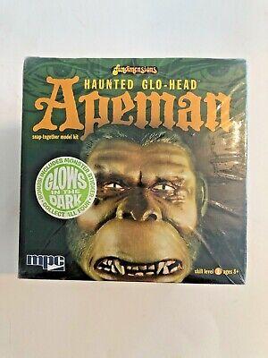"MPC 6/"" Tall Haunted Glo-Head Apeman Glows in the Dark Plastic Figure Kit #725"