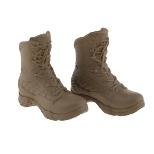 "1:6 modelli di scarpe donna ANFIBI PER 12/"" HT//Phicen//CY GIRLS Figura Verde"